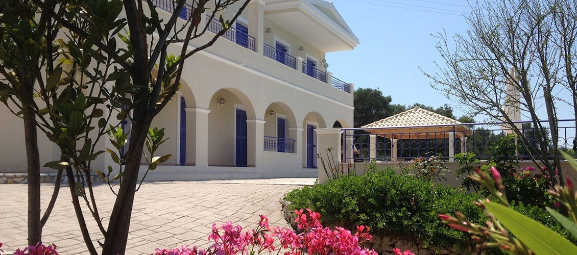 Corfu Villa Julia view from the front