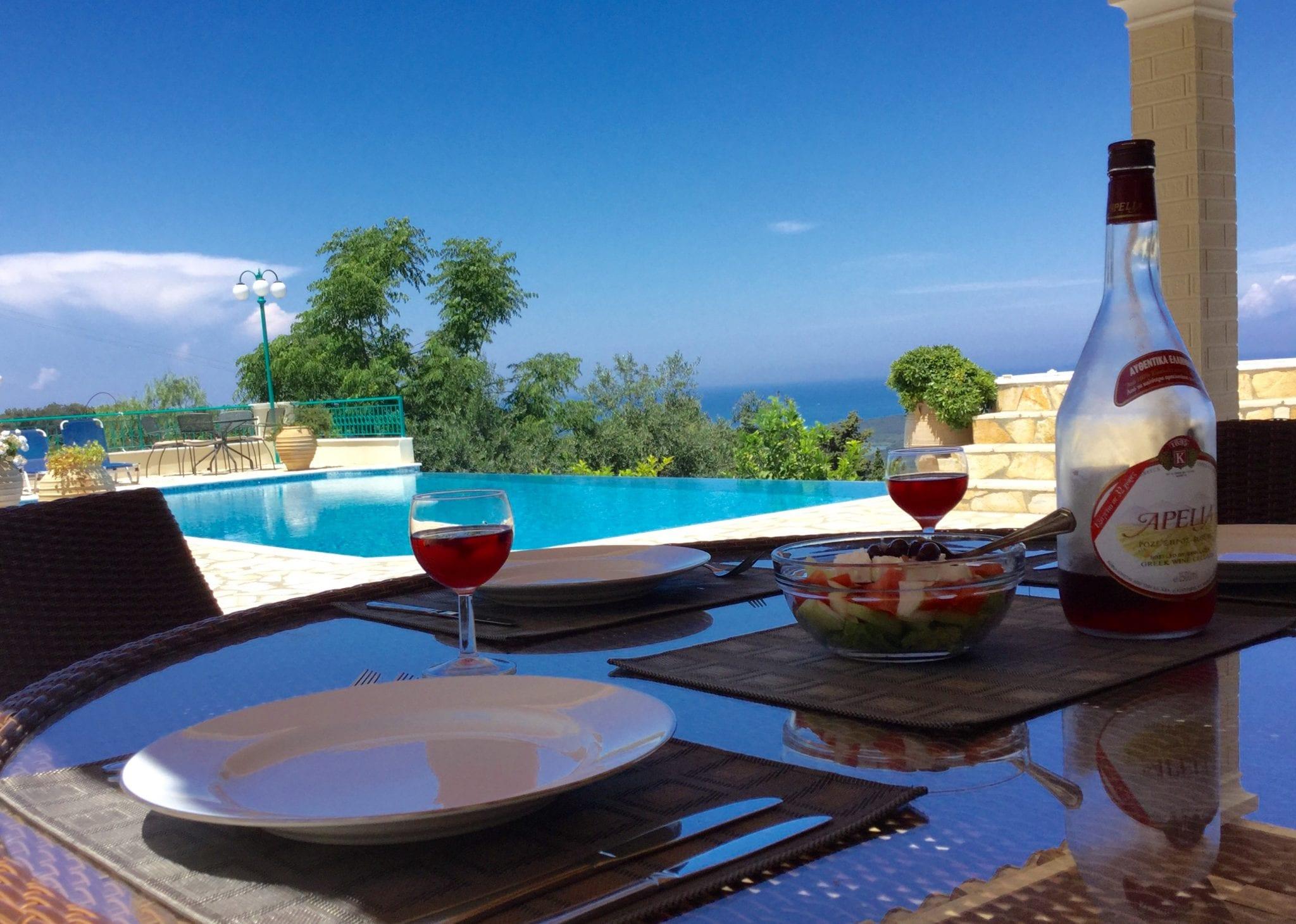 luxury corfu villas